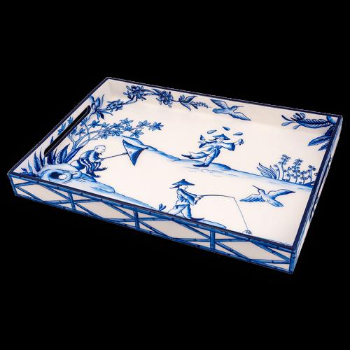 LAC-32 Blue Peking Picnic
